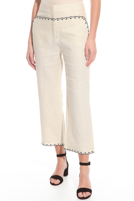 Pure linen trousers Intrend