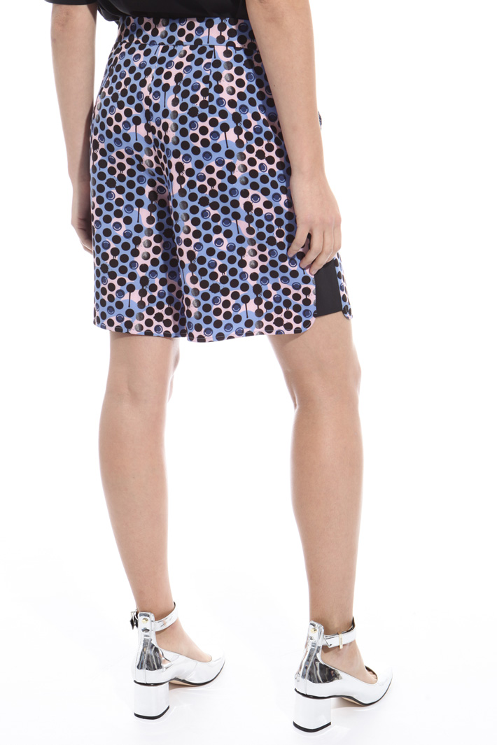Printed short trousers Intrend