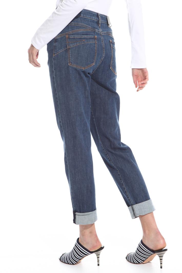 Jeans con risvolto Intrend