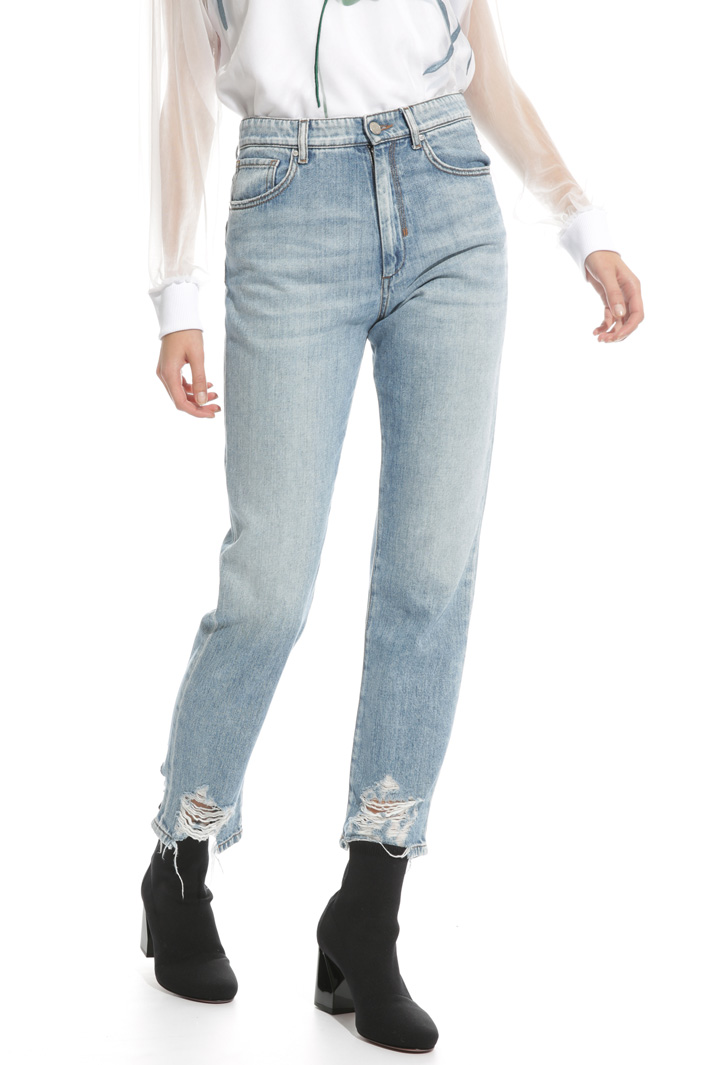 Ripped mom jeans Intrend