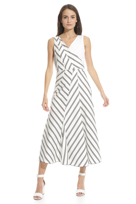 Flared midi dress Intrend