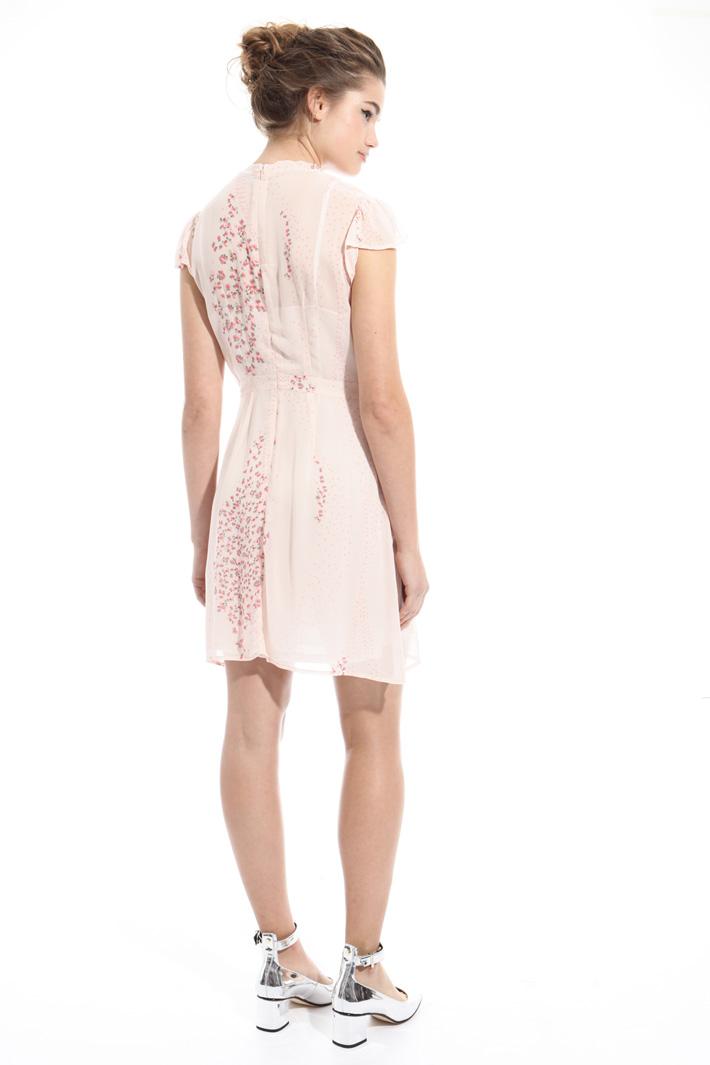 Mini abito in crepe stampata Intrend