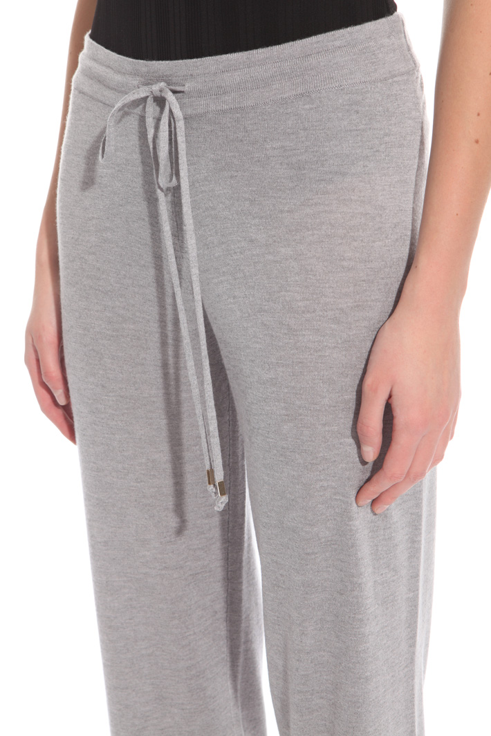 Pantalone jogging in cashmere Intrend