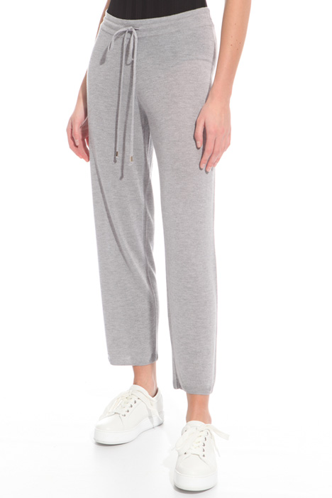 Cashmere jogging-style pants Intrend