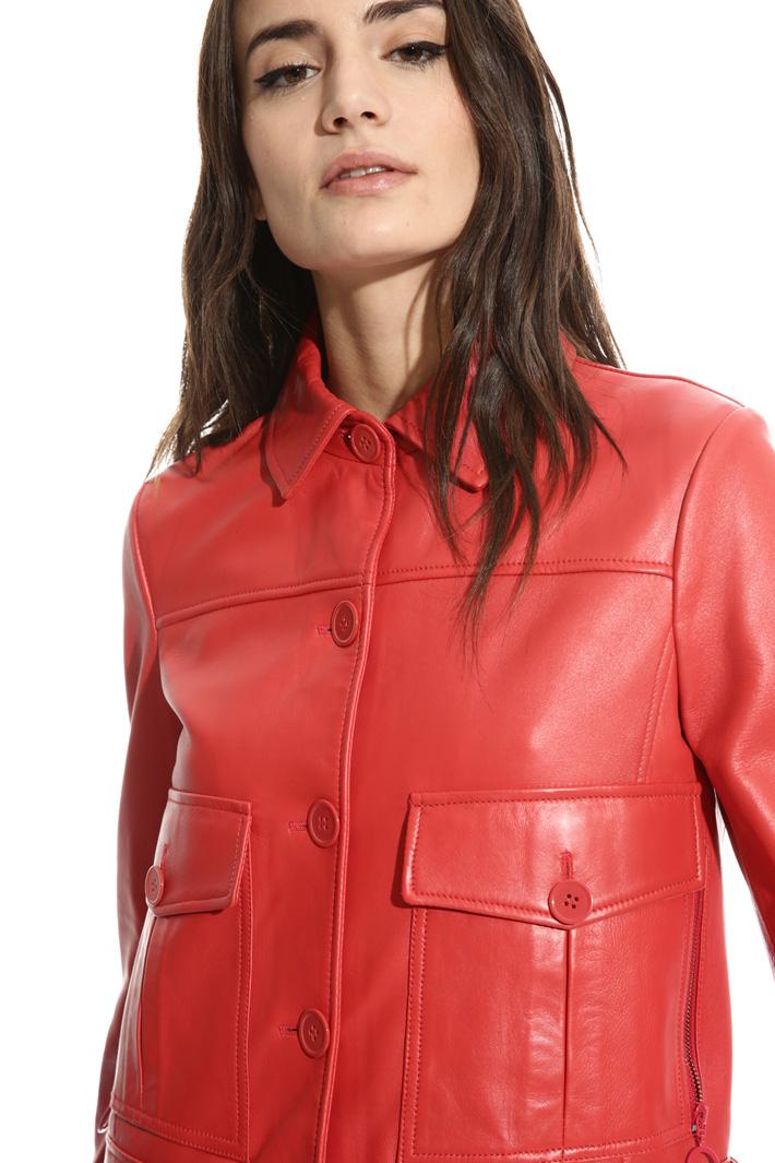 Soft nappa jacket Intrend