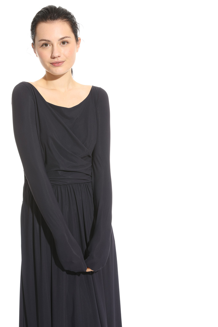 Draped dress Intrend