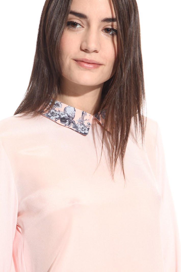 Blouse with shirt collar Intrend