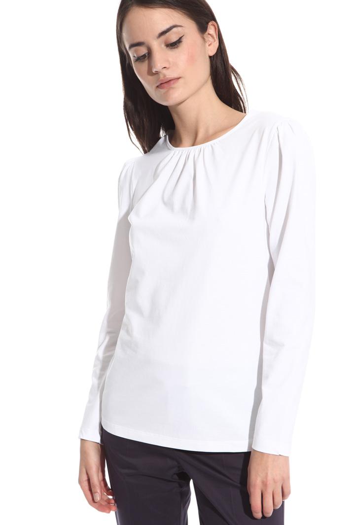 Puff sleeve T-shirt Intrend