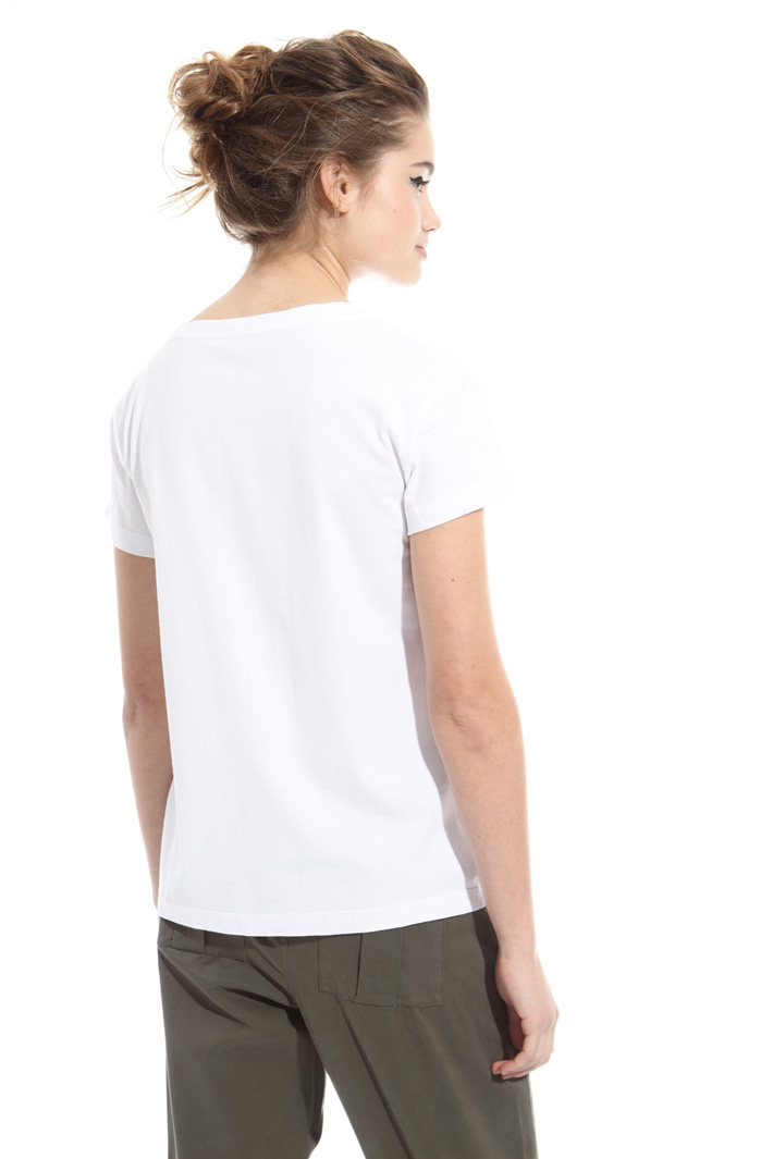 T-shirt with embroidery  Intrend