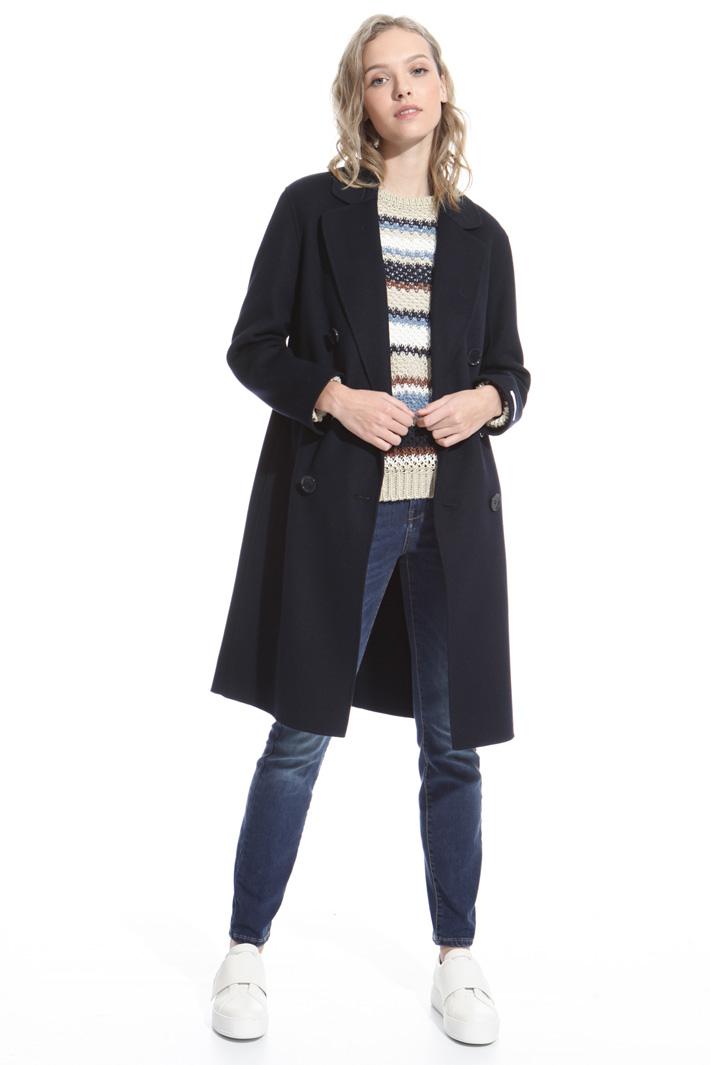Cappotto in misto lana Intrend