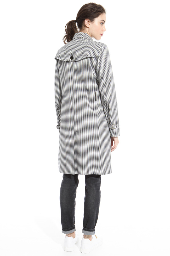 Vichy trench coat Intrend