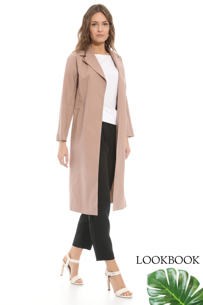 Compact canvas duster coat Intrend