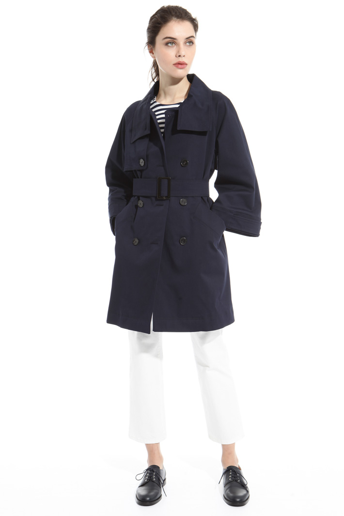 Cotton drill trench Intrend