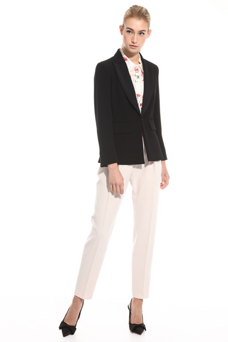 Giacca blazer in triacetato Intrend