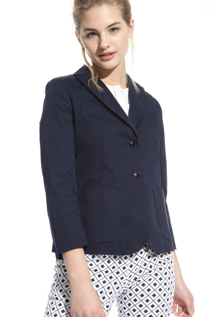 Stretch gabardine jacket Intrend