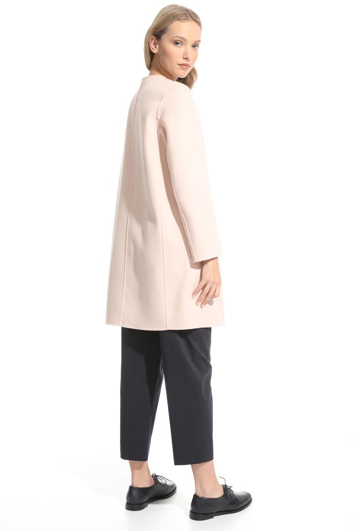 Capospalla double face in lana Intrend