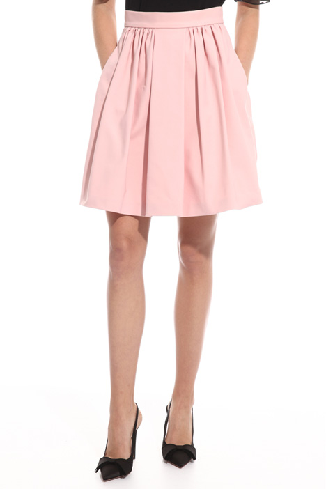 Double cotton satin skirt Intrend