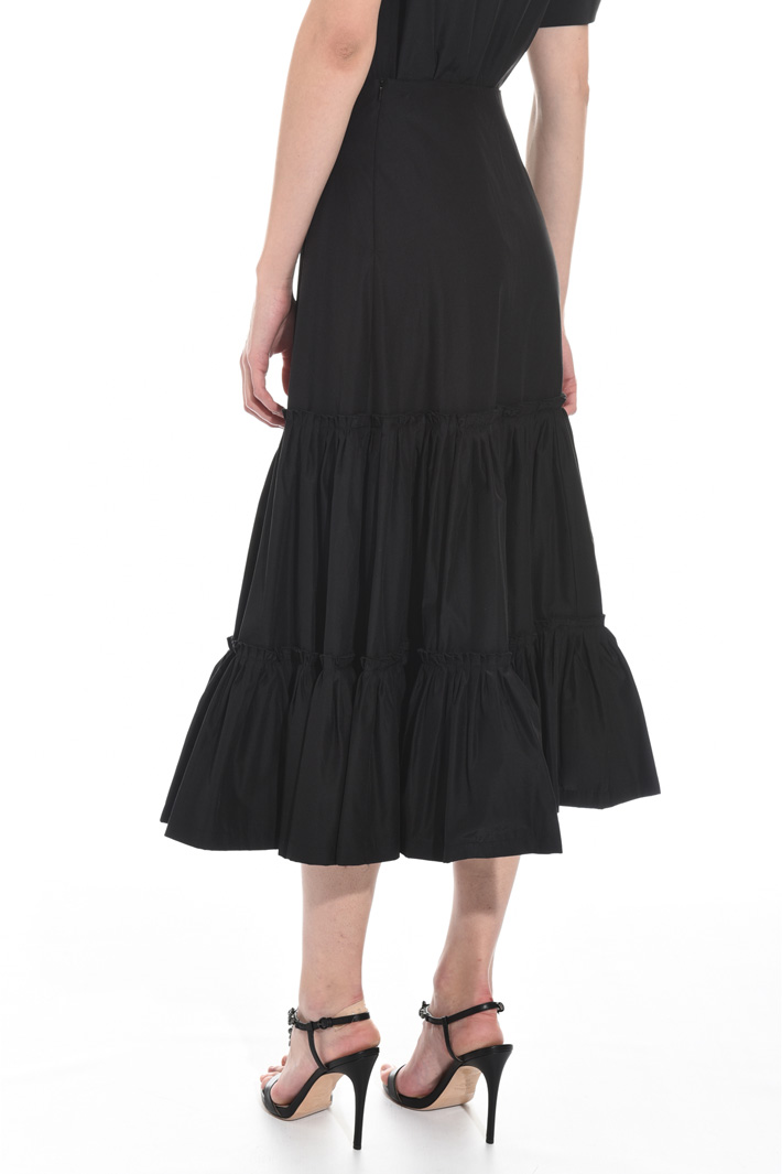Flounced hem skirt Intrend