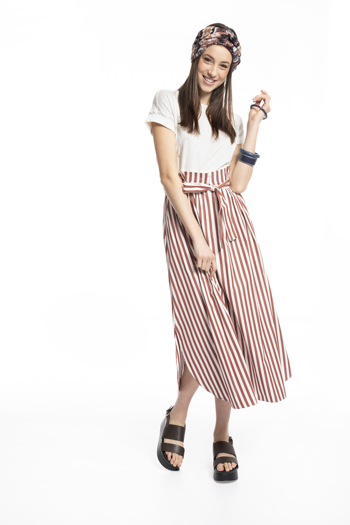 Belted skirt Intrend