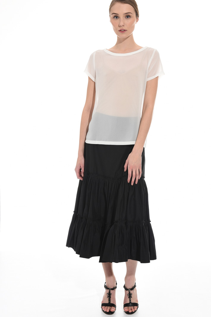 Sheer georgette top Intrend