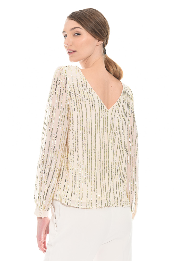 Sequin top Intrend