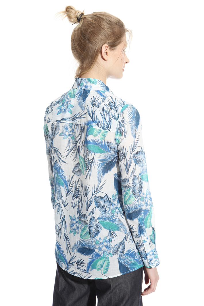 Printed muslin shirt Intrend