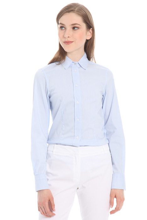 Striped linen shirt Intrend