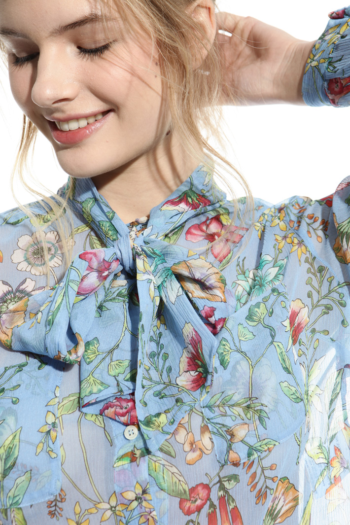 Silk crepon shirt Intrend