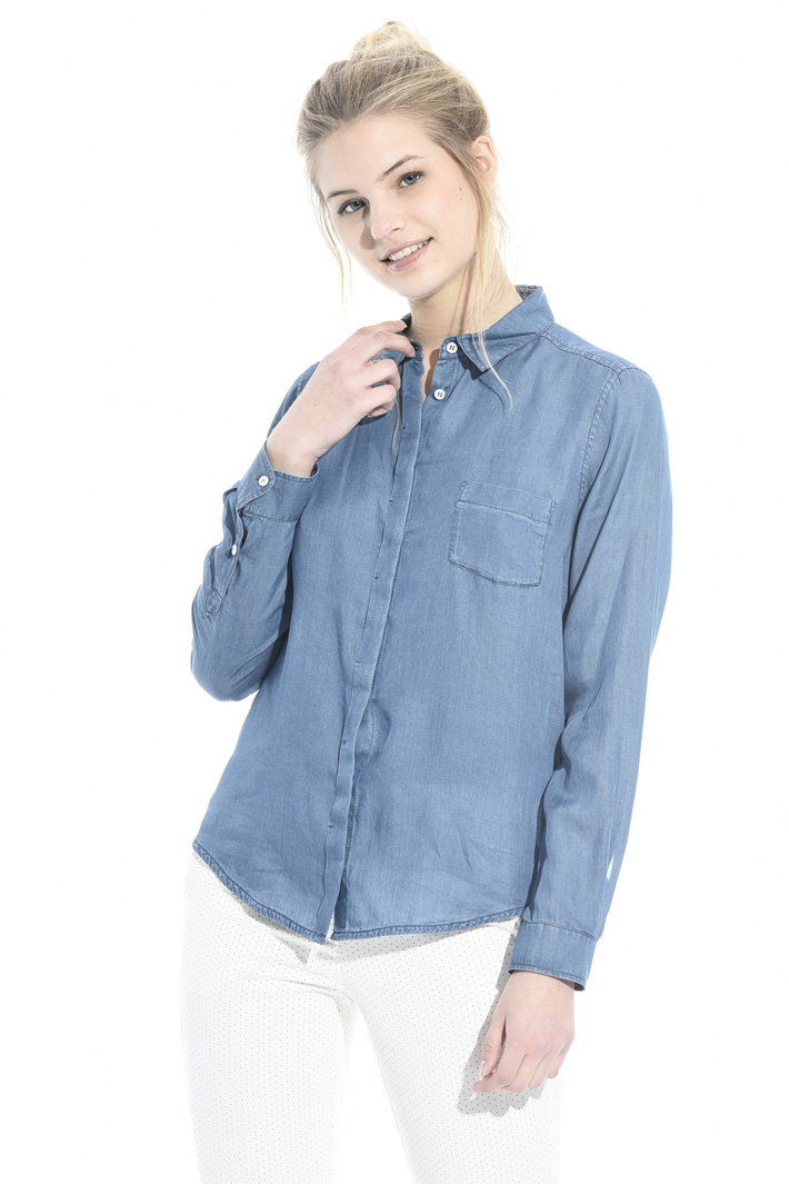 Fluid fabric shirt Intrend