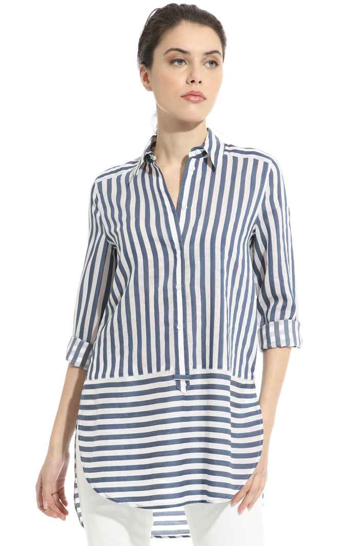 Striped muslin shirt Intrend