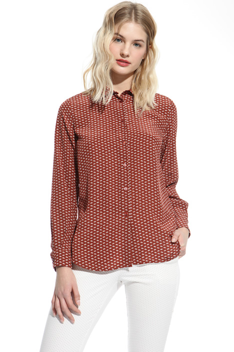 Printed silk shirt Intrend