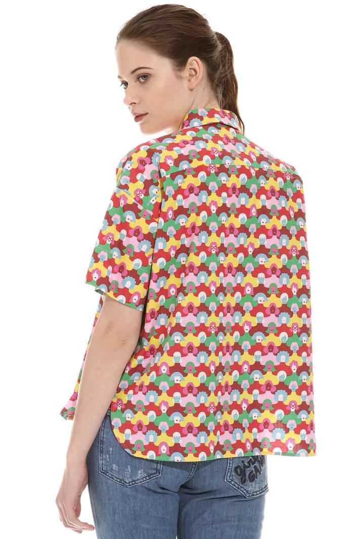 Printed boxy shirt Intrend