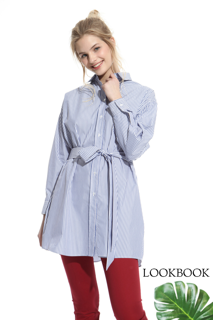 Belted tunic Intrend
