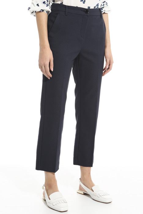 Pantalone in tessuto stuoia Intrend