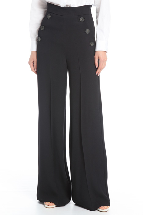 Pantalone ampio in viscosa Intrend
