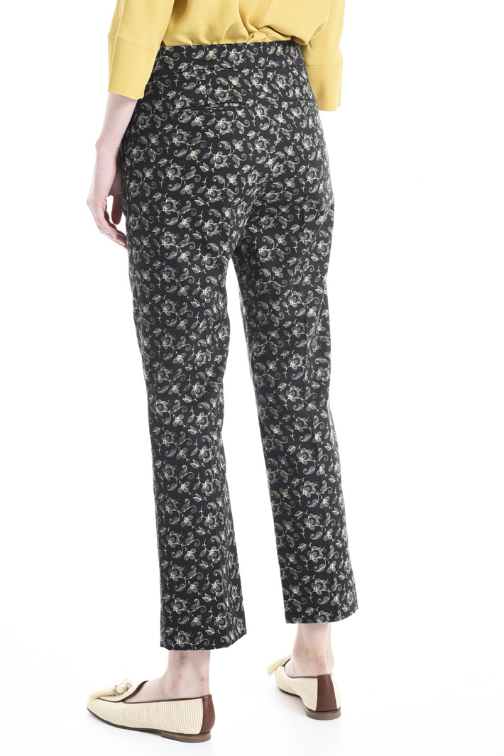 Pantalone in piquet stretch Intrend