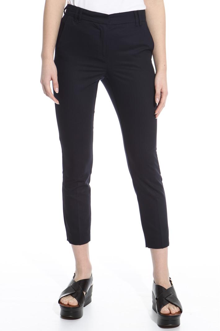 Lightweight satin trousers Intrend