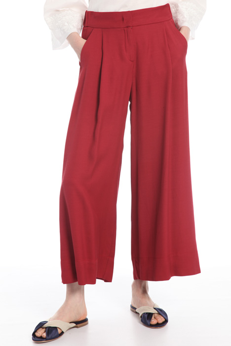 Flow viscose trousers Intrend