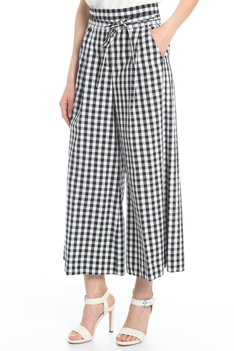 Wide-leg printed trousers Intrend