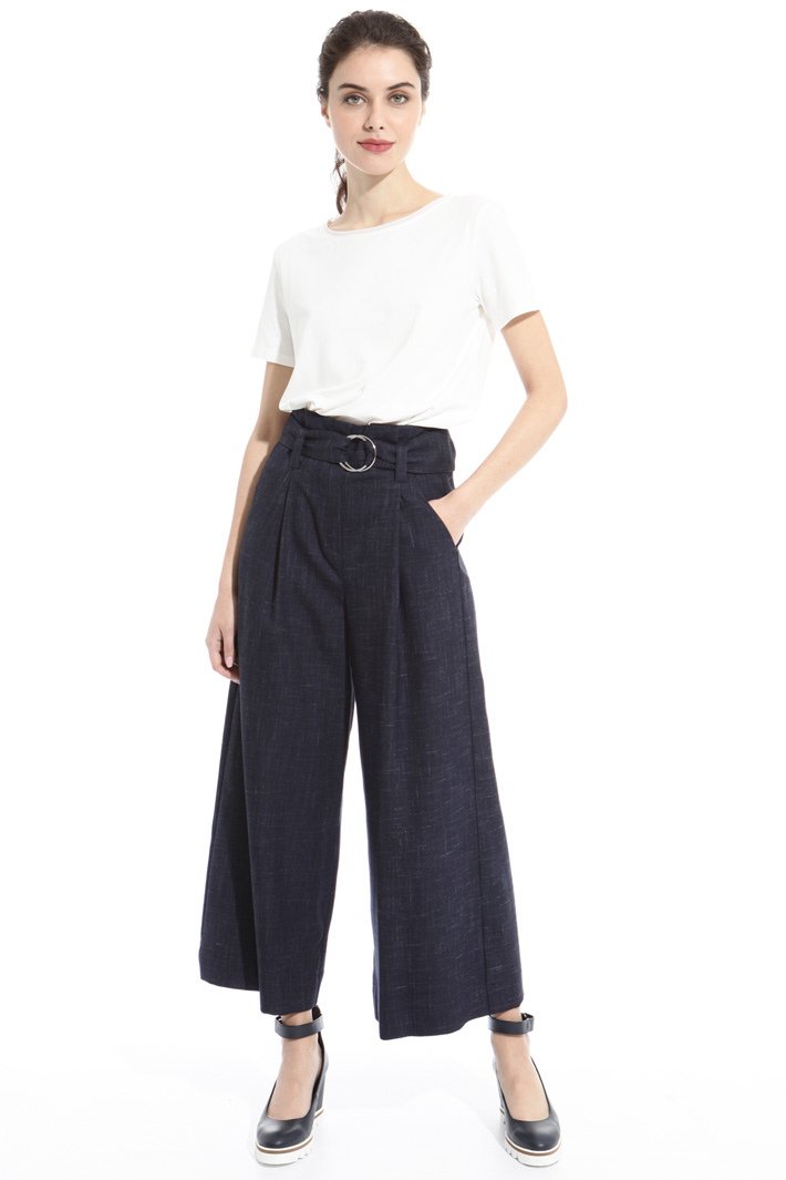 Soft fabric trousers Intrend