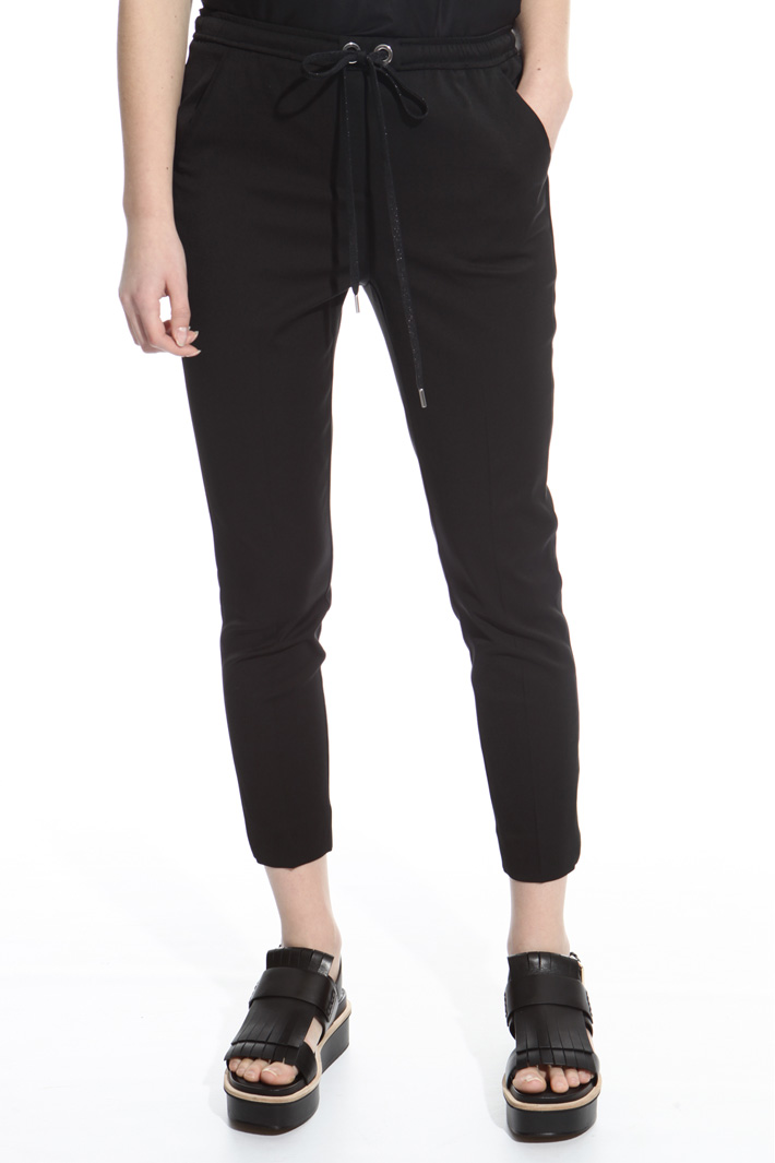 Compact fabric trousers Intrend
