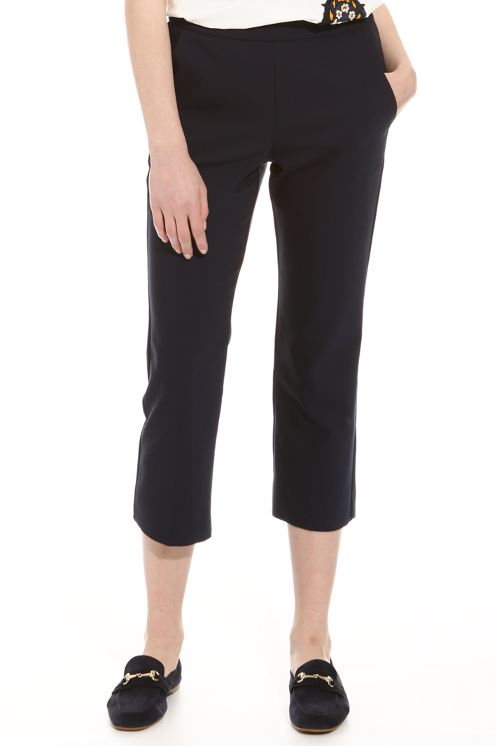 Cropped cigarette trousers Intrend