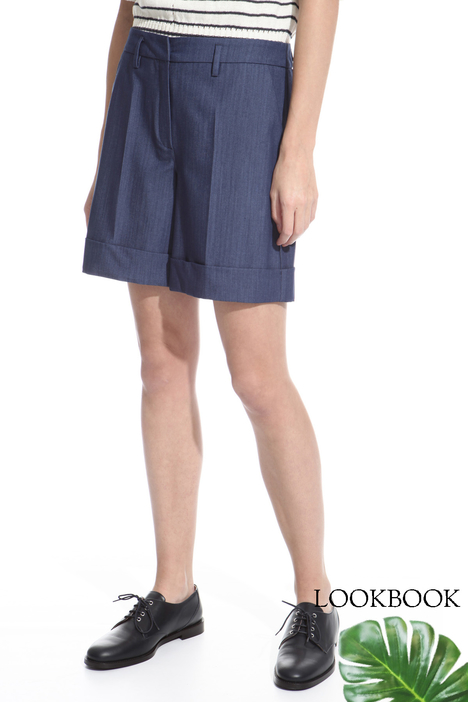 Shorts in tessuto stretch Intrend