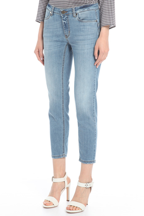 Five pocket fitted jeans Intrend