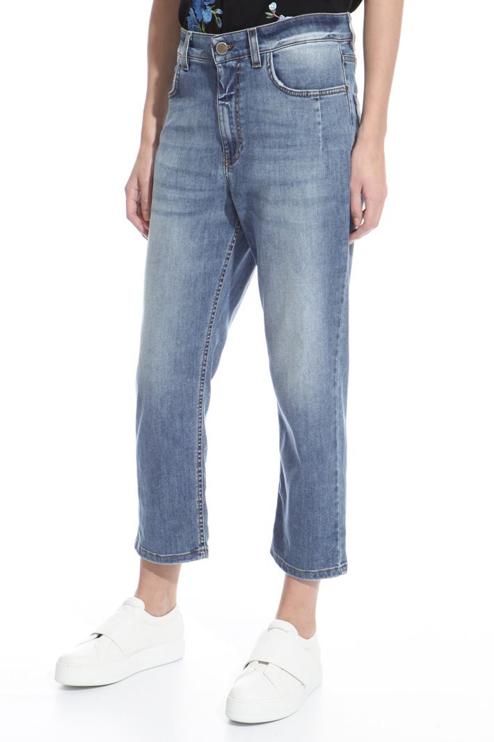 Drop crotch boyfriend jeans Intrend
