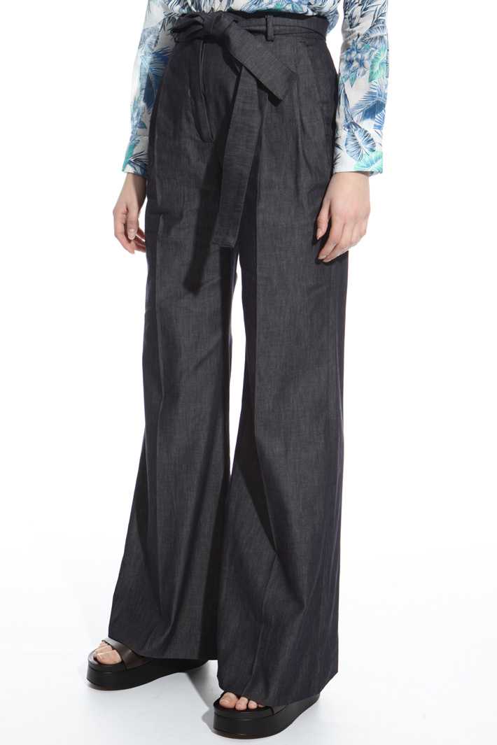 Belted trousers Intrend
