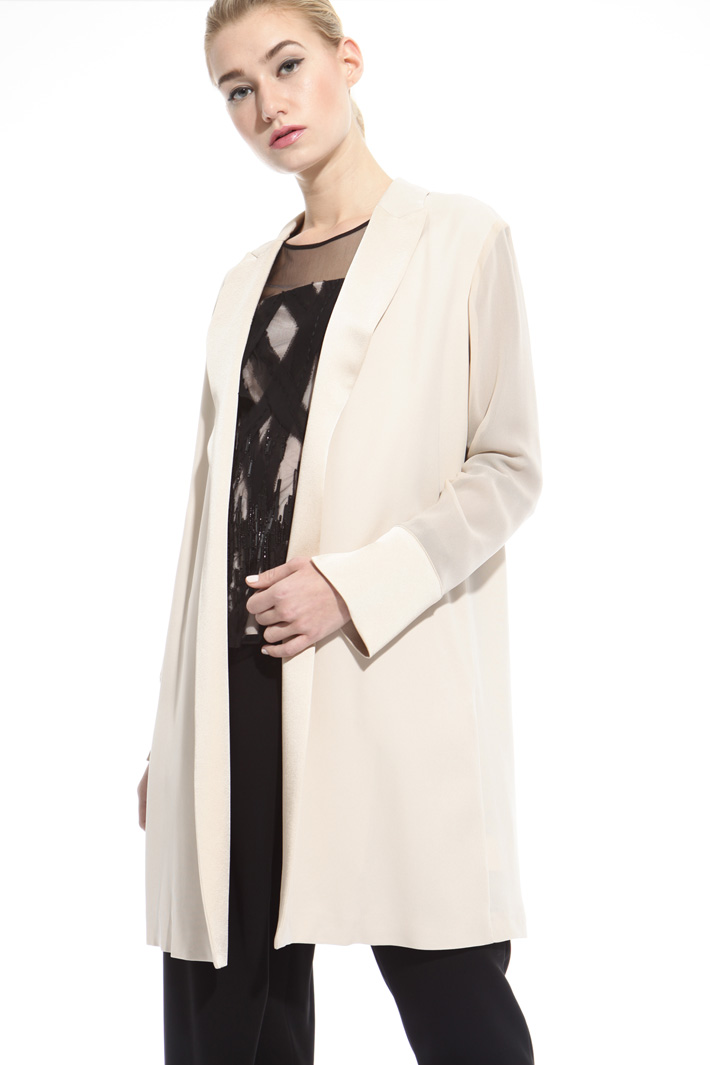 Georgette topcoat Intrend