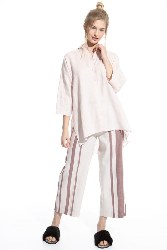 Oversized linen shirt Intrend