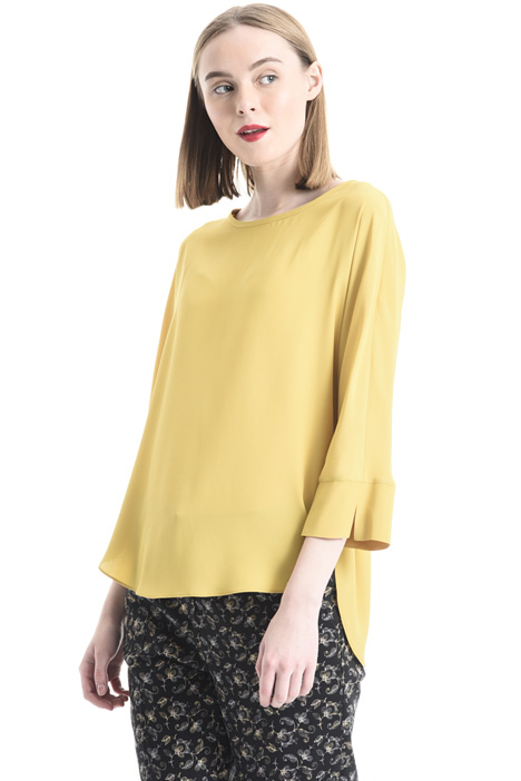 Blusa in misto seta Intrend