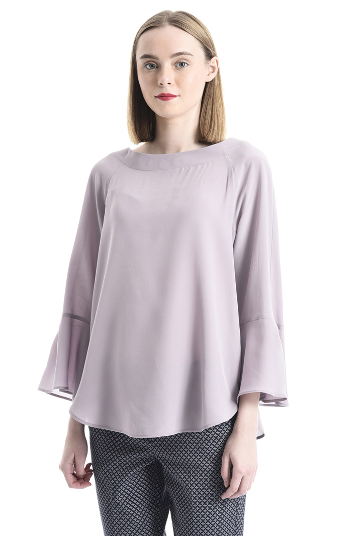 Washed silk blouse Intrend